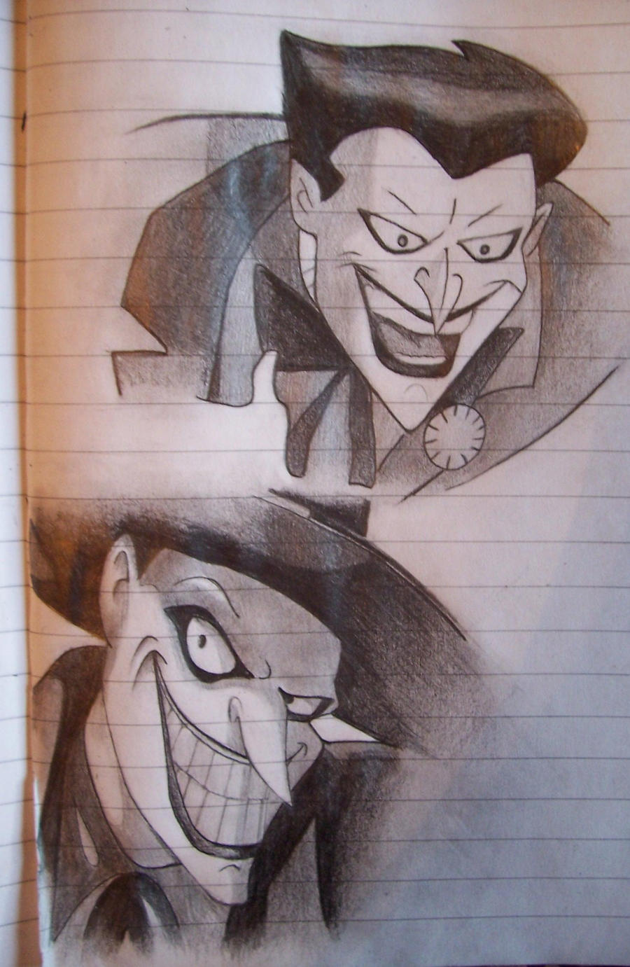 Joker cartoon by Astartte on DeviantArt