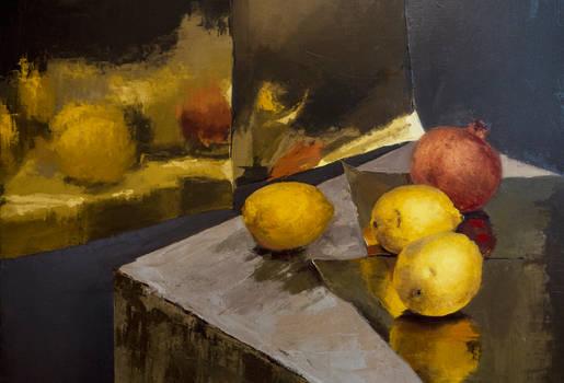 Lemons - OIL PAINTING
