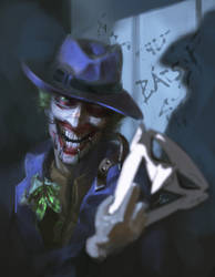 Joker old and new - OVERPAINTED