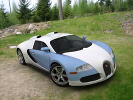 Bugatti Veyron on our backyard by JetroPag