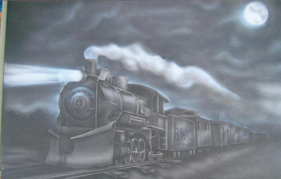 Train by Jcdow3Arts