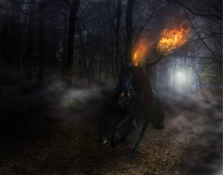 The Headless Horseman by Jcdow3Arts