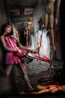 Chainsaw Killer ? by Jcdow3Arts