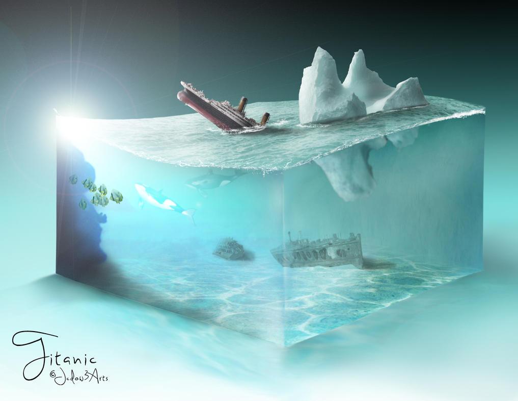Titanic by Jcdow3Arts