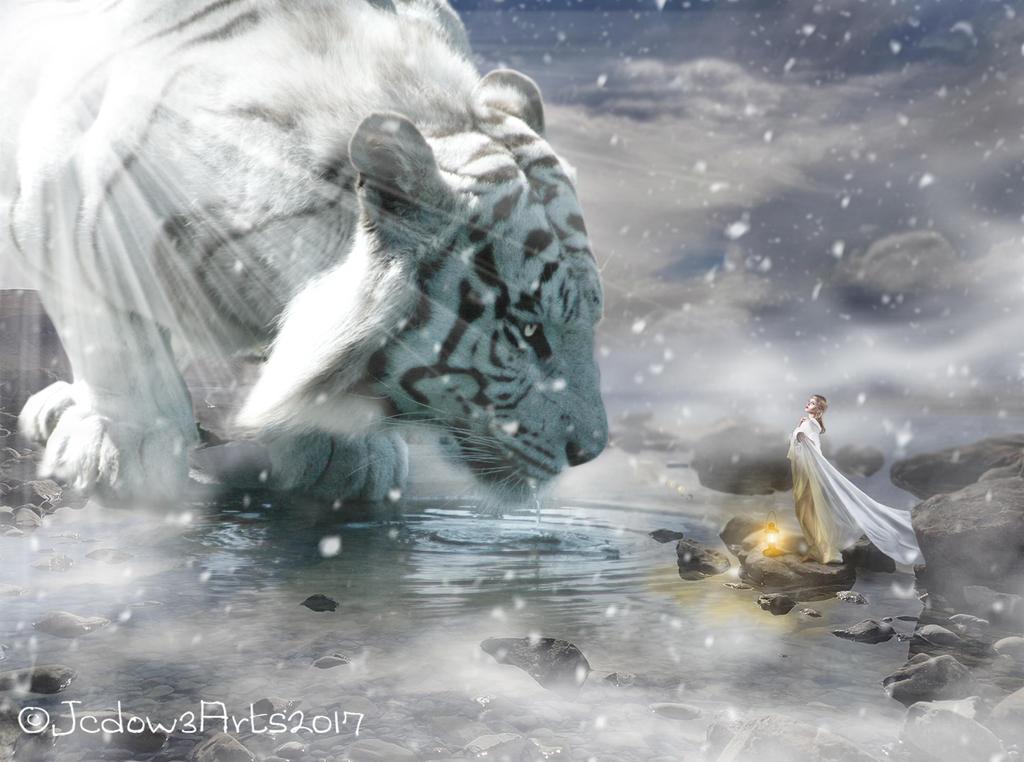 Fantasy Tiger by Jcdow3Arts