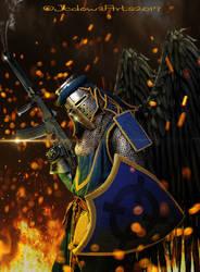 Knight by Jcdow3Arts