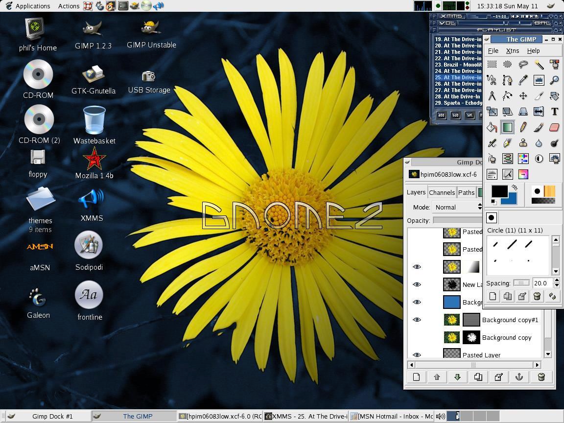 GNOME2 just my random desktop by biggyp