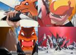 Pokemon Fuego vs charz (3/3)