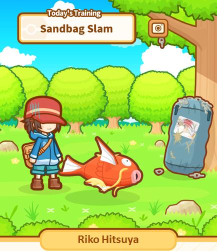 Magikarp Sandbag Training