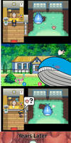 Female Wailord and Male Skitty Daycare