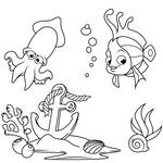 Fish Coloring Pages - Coloring Book For Kids