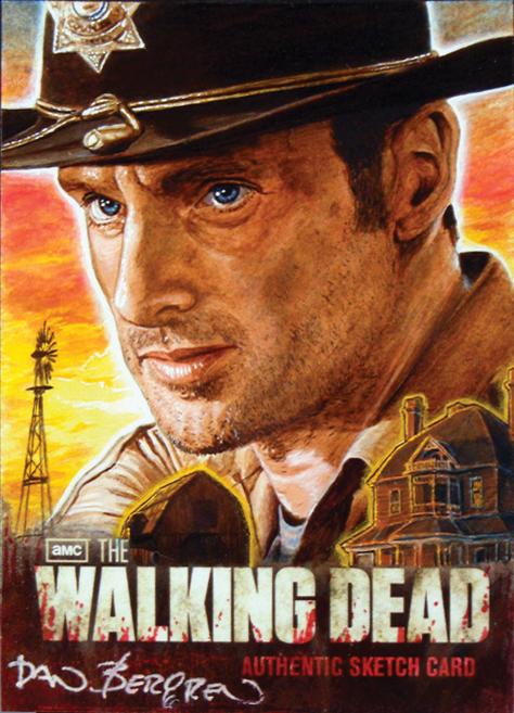 The Walking Dead Season 2 Rick Grimes by DBergren