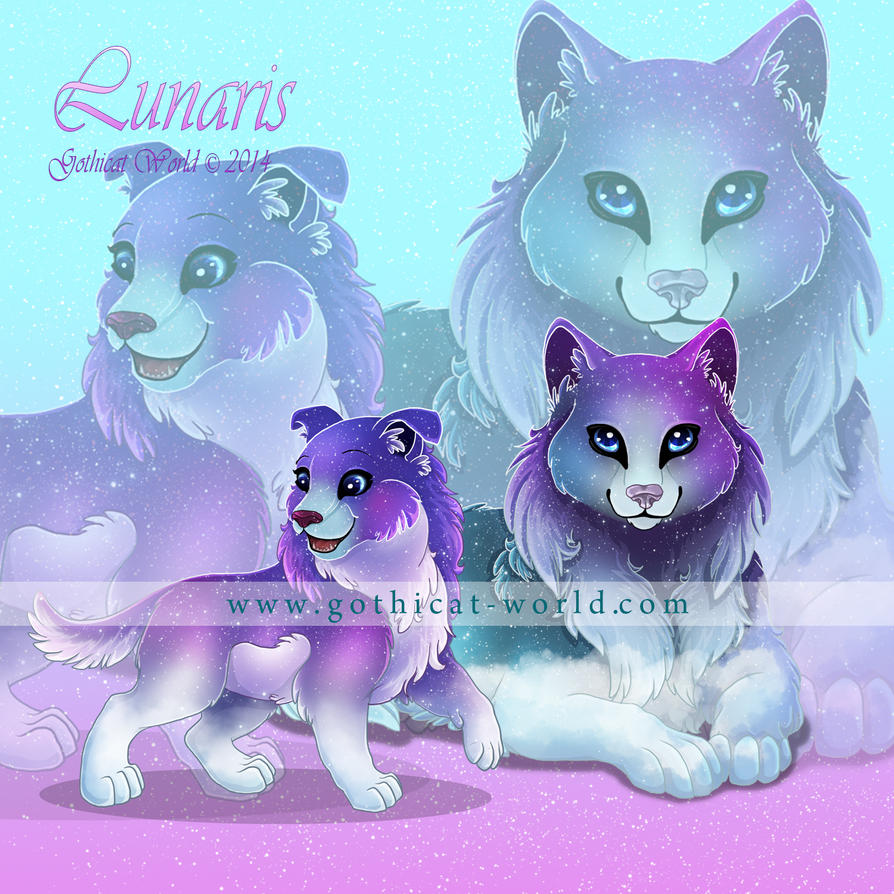 Lunaris for Gothicat World (December 2014) by x-Tsuzurao-x