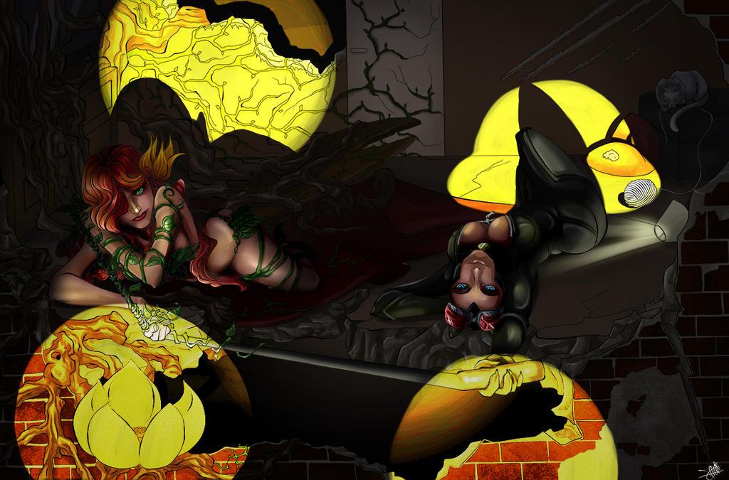 Ivy et Catou by x-Tsuzurao-x