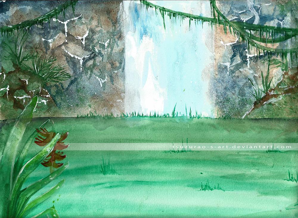 Waterfall by Tsuzurao-s-Art