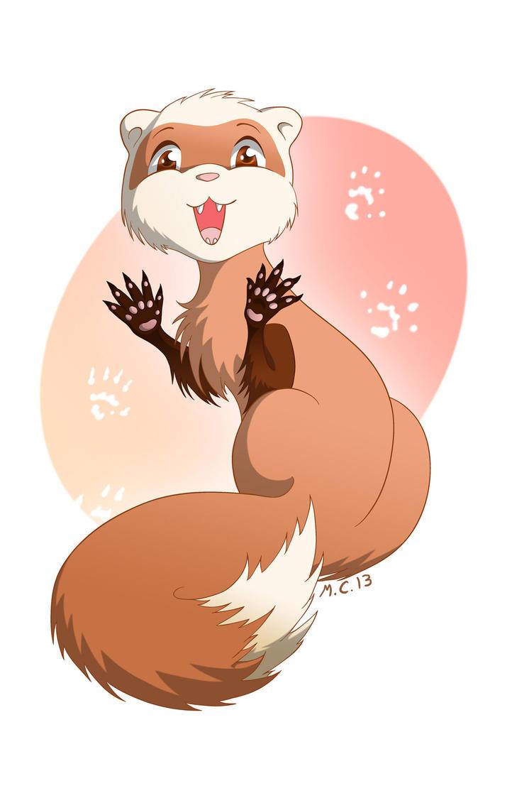 Ferret Trouble by Kiri-ri