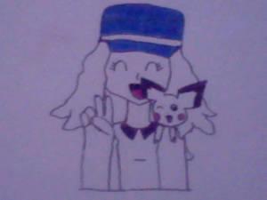 [Request #1] Serena and Pichu