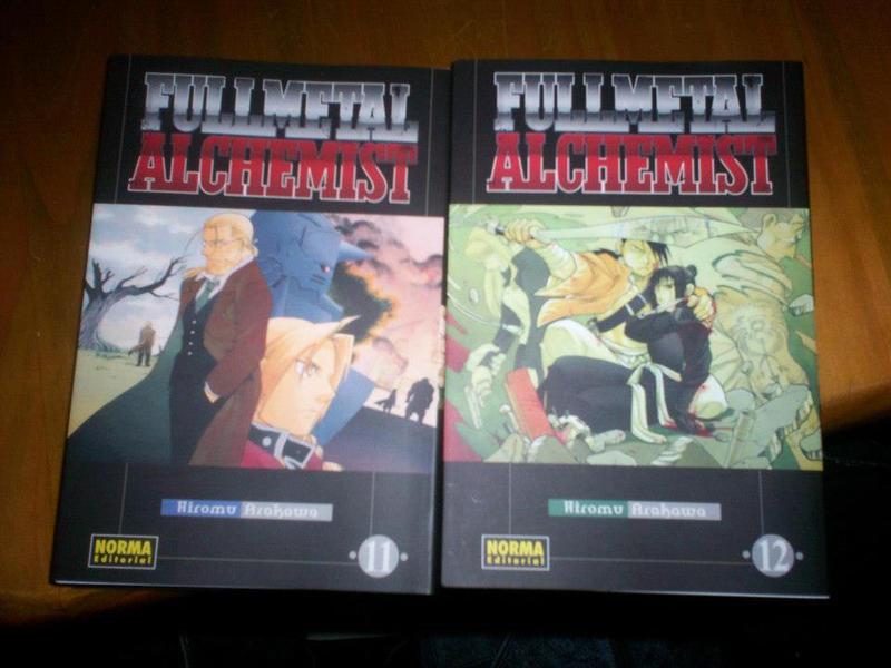 Mis Manga de FMA by Alquimista-de-acero
