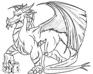Dragon by sirarles