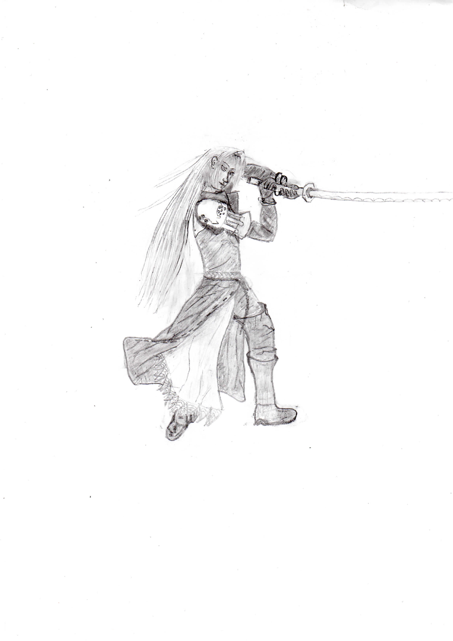 Sephiroth by Raznov