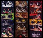 Creepypasta's eyes
