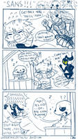 Undertale comic- SANSSSS!!