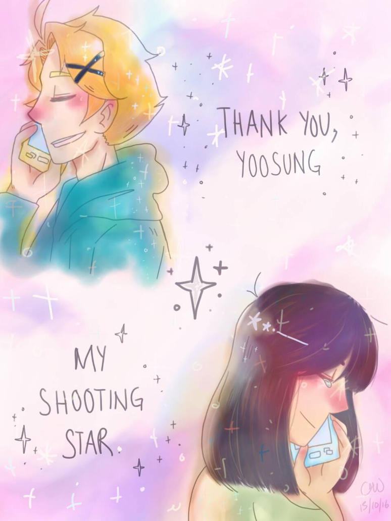 you are my shooting star by servantofpsychotic