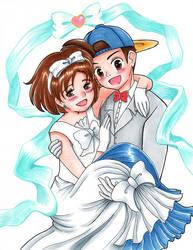 Jack and Elli's Wedding Photo
