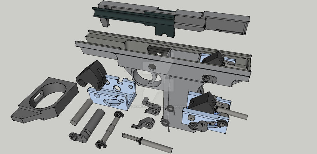 WIP 3D part 2 by BeadedGreenLizard