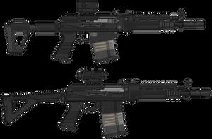 ST3P rifles (PMG CODE) by BeadedGreenLizard