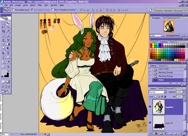 .the.rayners.WIP. by xailachan