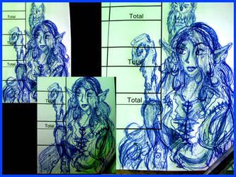 .drow.penned.druid. by xailachan