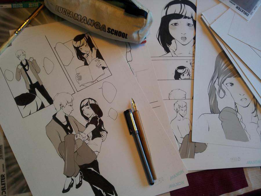 Work-a-work by Jundou
