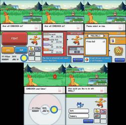 Pokemon Battle Scene by LostImpact