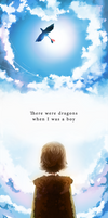 There were dragons when I was a boy by hope-for-da-snow