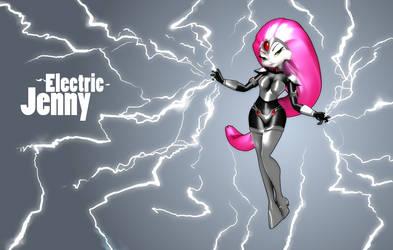 Electric Jenny by johantri