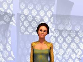 Asih, The Girl With Kebaya