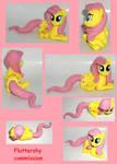 FLUTTERSHY commission sculpture FIM My Little Pony
