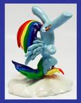 Rainbow Dash Cloud Headspin custom by MadPonyScientist