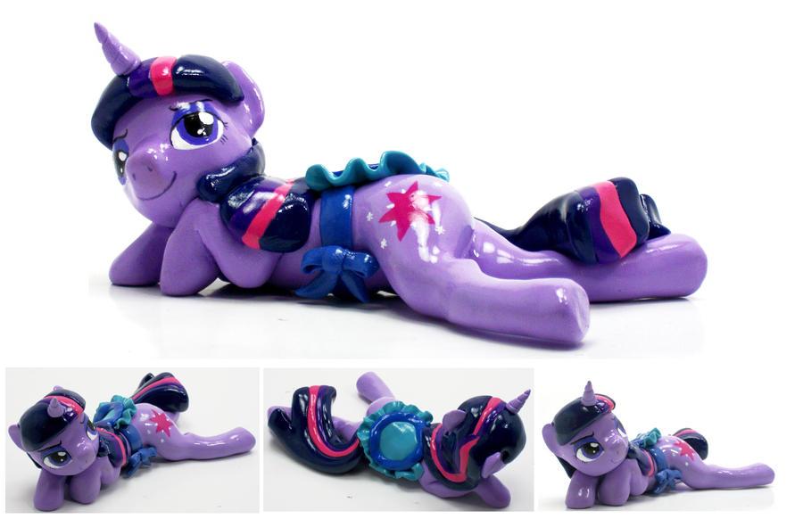 Twilight Sparkle NSFW pony custom sculpture by MadPonyScientist