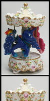 My Little Pony Custom Musical Carousel Luna RD PP