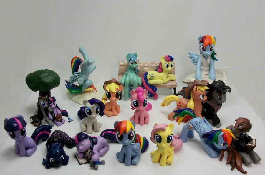 My Little Pony Friendship Is Magic Group Photo by MadPonyScientist