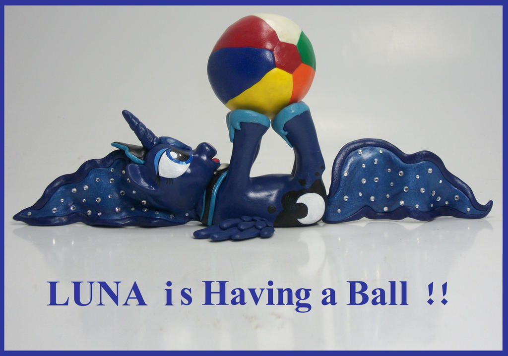 Princess Luna is Having A Ball - revisited by MadPonyScientist