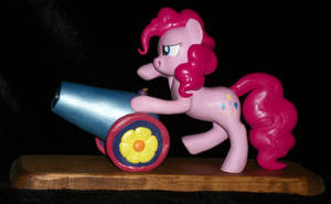 Pinkie Pie and her PARTY CANNON sculpture 4 Sale