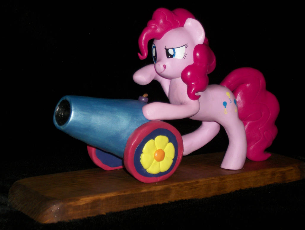 Pinkie Pie and her Party Cannon 4 SALE by MadPonyScientist
