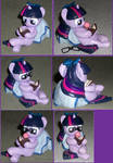 Filly Twilight Pillow Pony with glasses 4 SALE