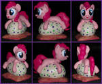 Filly Pinkie Pie Pillow Pony sculpture