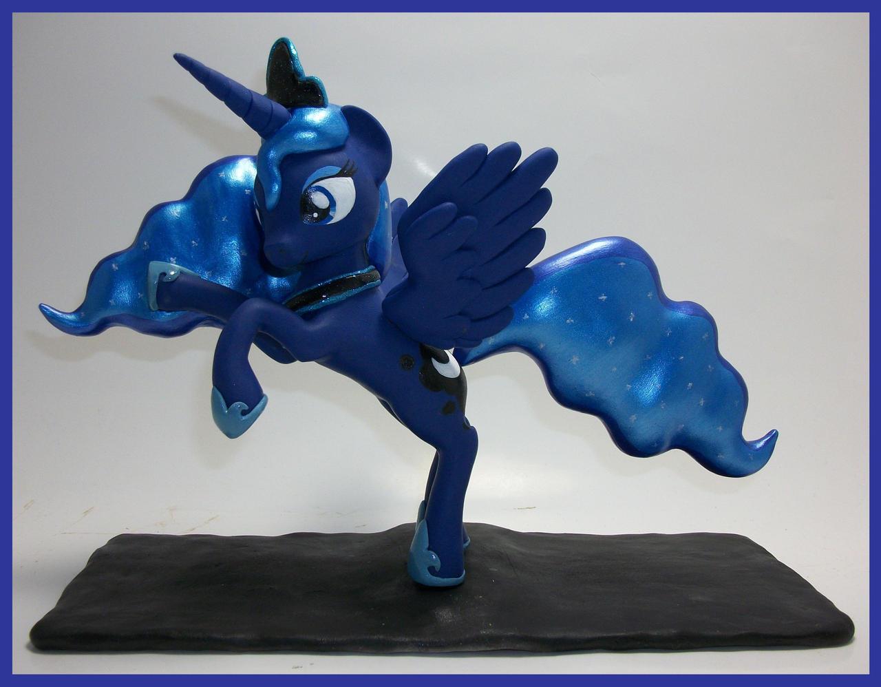 Princess Luna....  All Hail !!!!! by MadPonyScientist