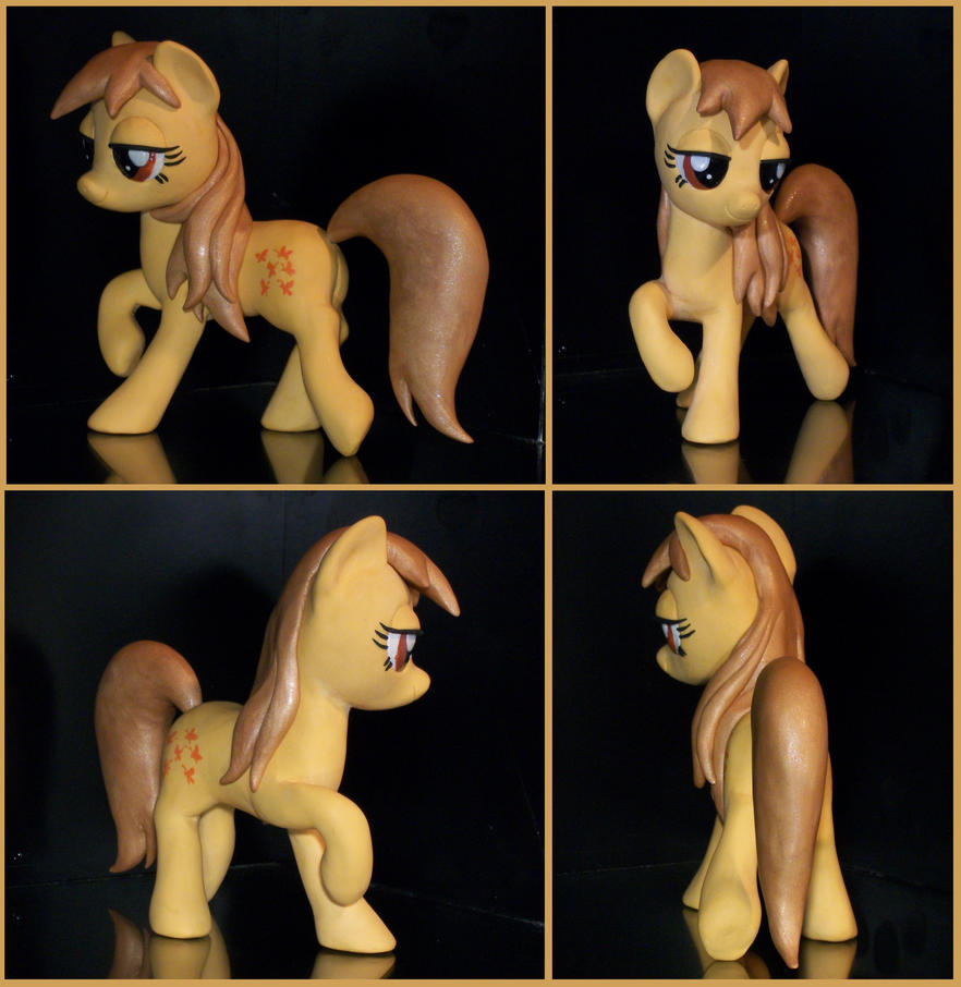 G1 Butterscotch sculpture as FIM Pony by MadPonyScientist