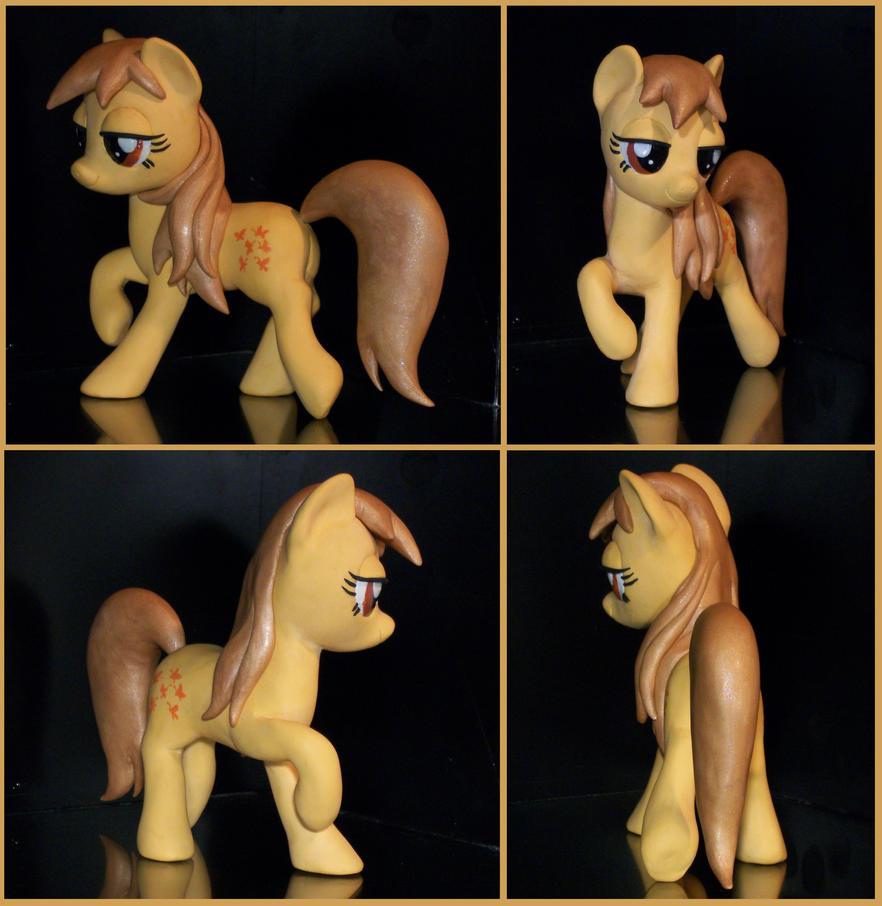 G1 Butterscotch sculpture as FIM Pony by MadPonyScientist